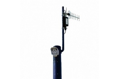 Avalan Wireless Systems AW900SSPK 900 Mhz Surveillance Solar Pole