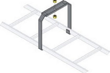 Middle Atlantic Clb Csb Ladder Center Support Bracket
