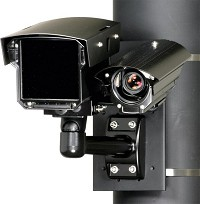 Bosch REG-D1-835XE-01 35mm B/W Camera, 5-50mm Color Camera w/LED 850nm License Plate Reader, 27-48ft. (Discontinued)