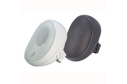 Speco SP4AWETW All-Weather Elite Series 4 Inch Speakers - 70v White with Transformer