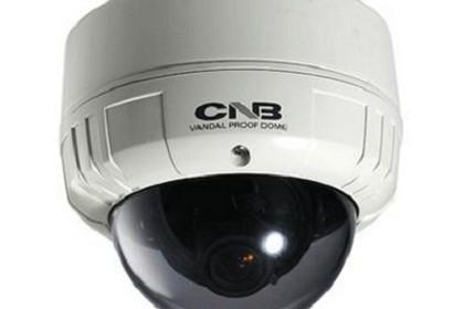 CNB VCB-24VD Blue-I Indoor Dome (100mm) - 580TVL, 0.0002LUX (DSS On, Black/White) Camera