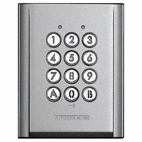 Aiphone AC-10S Access Control Keypad, Surface Mount, for use with Stand Alone