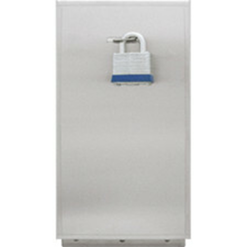 Aiphone SBX-LSE Stainless Steel Security Lock Box