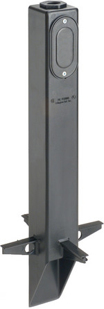 Arlington GPLN19BR | Bronze Low- Profile Gard-N-Post 19.5