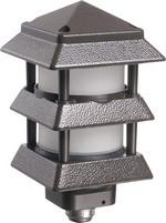 Arlington GPP60B | Pagoda Light Fixture Black
