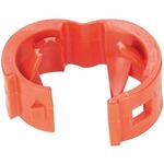 Panduit PCBANDRD-Q | Panduit Patch Cord Color Band - Cable marker - red (pack of 25)