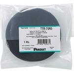 Panduit TTR-75R0 | Panduit Hook & Loop Cable Ties - Black - 1 Pack - 40 lb Loop Tensile - Nylon, Polyethylene