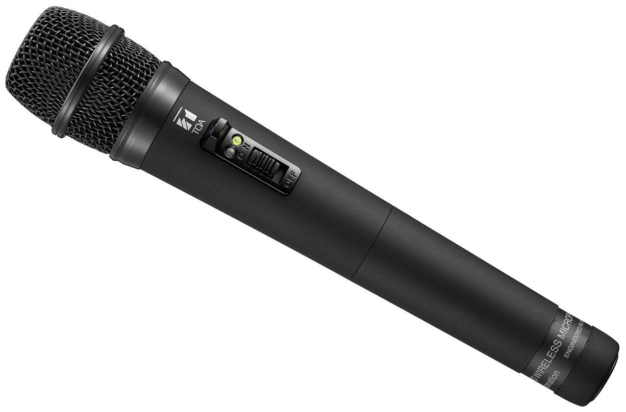 TOA Electronics WM-5225-AM-M1D00 | UHF Wireless Handheld Condenser Microphone