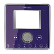 Comelit 6101F Planux Video Monitor Front Template -Rock Violet Colour