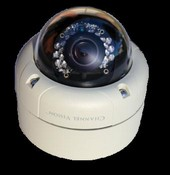 Channel Vision 6521 2 Megapixel Vandal Proof Outdoor Dome IP Camera