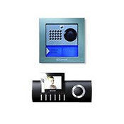 Comelit 8491BU Diva Single Family Color Powercom Video Intercom System, Black