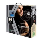 Comelit 8495BU, Planux 1 Family Kit, Black Planux Monitor, Flush Mount Box, Wiring Bracket