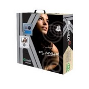 Comelit 8495WU, Planux 1 Family Kit, White Planux Monitor, Flush Mount Box, Wiring Bracket