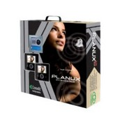 Comelit 8496BU, Planux 2 Family Kit, 2 Black Planux Monitors, Flush Mount Box, Wiring Bracket