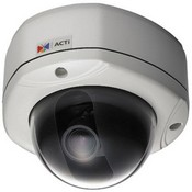 ACTi CAM-7321N MPEG-4 Real-Time Network Streaming Outdoor IP Rugged Dome Camera
