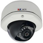 Acti D71A 1Mp Outdoor Dome With D/N, Ir, Fixed Len
