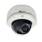 ACTi D71 1MP Outdoor Dome Camera  with Day/Night, IR, Fixed Lens