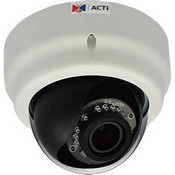 ACTi E61 1MP Indoor Dome Camera with Day/Night , IR, Basic WDR, Vari-Focal Lens