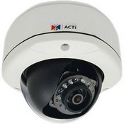 ACTi E72 3MP Outdoor Dome Camera with Day/Night, IR, Basic WDR, Fixed Lens