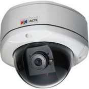 ACTi E86 3MP Outdoor Dome Camera with Day/Night, IR, Superior WDR, Vari-Focal Lens
