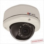 Acti E88 1.3Mp Outdoor Dome With D/N, Ir, Basic W