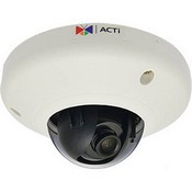 ACTi E91 1MP Indoor Mini Dome with Basic WDR, Fixed Lens
