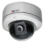 ACTi KCM-7111 2.8mm 2032x1920 Outdoor Day/Night Dome IP Security Camera 12VDC/POE