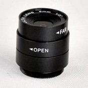 ACTi PLEN0107 MegaPixel Lens, CS Mount, f3.5~8mm, 1/3