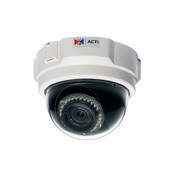 ACTi TCM-3011 H.264 IR Day/Night Dome IP Security Camera