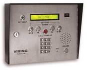 Viking Electronics AES-2005S 75 Name Apartment Entry System With Colo