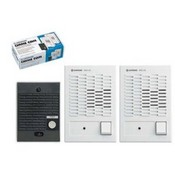 Aiphone C123LW  Chime Com-Boxed Set, 1 Door Station, 2 Inside Stations