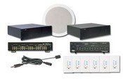 Channel Vision AKIT2 4x6 Audio-Video Matrix Kit with Speakers