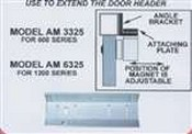 Alarm Controls AM6325 Adjustable Angle Bracket For 1200 Mag Lock