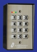 Alarm Controls KP-400 Digital Keypad Weather-Proof Vandal Resistant With Metal Back Box