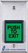 Alarm Controls TS-40 SSSG Req To Exit Button Timer