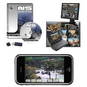 Alnet Systems NET4 IP Camera Software, 4 Channel License Dongle