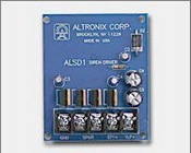 Altronix ALSD1 6VDC to 12VDC Operation, 2 Channel (Yelp & Steady), High Output, Low Current Draw