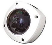 American Dynamics ADC780SD-24 Vandal Resist Camera Pack 480 TVL, 2.6-6 mm Color, Surface Dome, Indoor/Outdoor