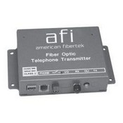 American Fibertek MR-86 Single Fiber Module Receiver - Phone Line Interface