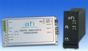 American Fibertek MR-925 10-Bit Digital 2-Channel Module Video RX/2-Channel Data TCVR MM