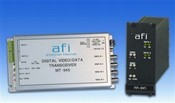 American Fibertek MR-945 10-Bit Digital 4-Channel Module Video RX/2-Channel Data TCVR MM