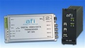 American Fibertek MT-945 10-Bit Digital 4-Channel Module Video TX/2-Channel Data TCVR MM
