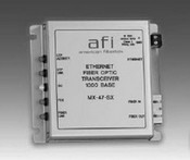 American Fibertek RR45MLSC Ethernet Rack Card Receiver -SC Connector