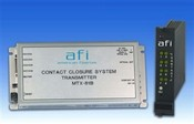 American Fibertek RTX-81B 4-Ch Two-Way Contact Closure Rack Card TX w/Power Fail Safe, MM