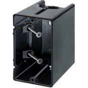 Arlington Industries F101 1-Gang Vertical Outlet Side Mount Box