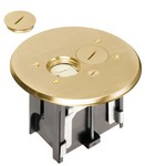 Arlington Industries FLBAR101MB Brass Adj Floor Box-Ro