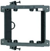 Arlington Industries LVS2 Screw-On New Construction Low Voltage Mounting Bracket, 2 Gang
