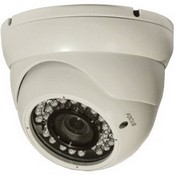 ARM Electronics C420MDIRW IR Mini Dome Camera (White)