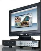 ARM Electronics RT4DVD-B 4 Channel 120FPS Networkable DVR, No HDD, MPEG 4, DVD-R/W, USB