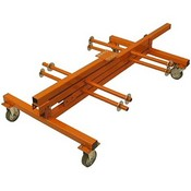 B.E.S CD3100 Cable Dolly Jr Wire Cart